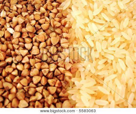 Buckwheat And Rice