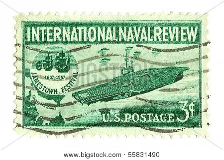 United States Stamp International Naval Review