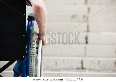 Wheelchair Inaccessable Stairs