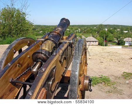 Ancient Ukrainian Cannon