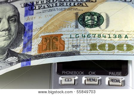 Concept image of money talks