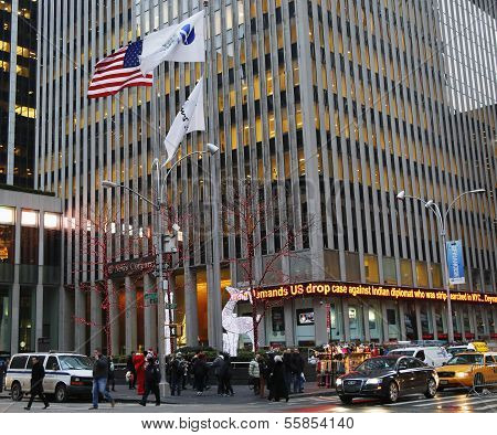 Fox News Sixth Avenue headquarters in Midtown Manhattan