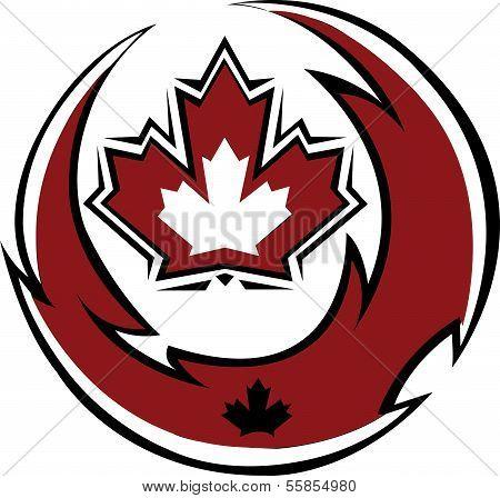 Ttibal Canada flag
