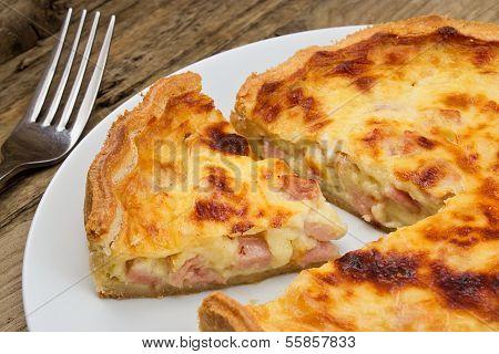 Quiche Lorraine Slice