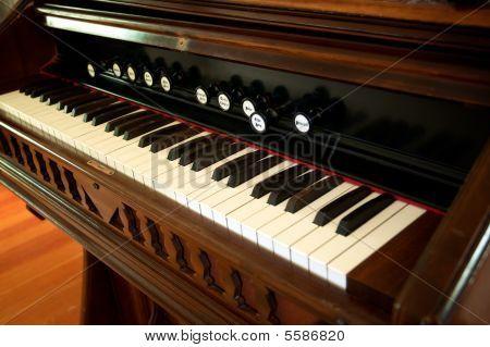 Antique Organ Piano