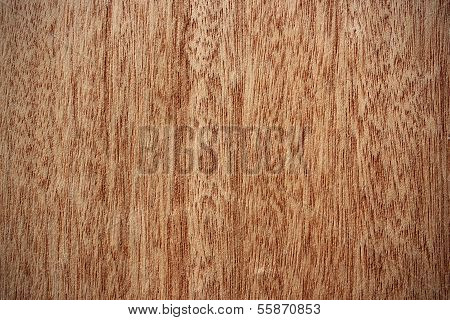 Okoume Wood Surface - Vertical Lines