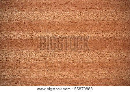 Sapele Wood Surface - Horizontal Lines