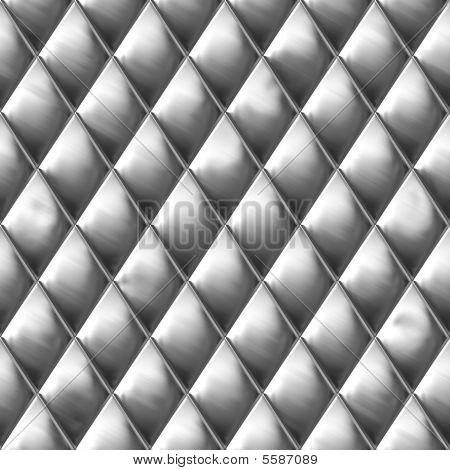 Diamond Cut Metal Pattern