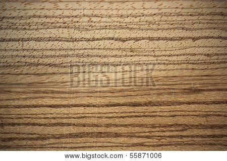Zebrano Wood Surface - Horizontal Lines