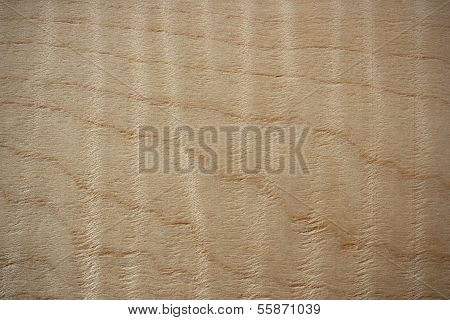 Flame Maple Wood Surface