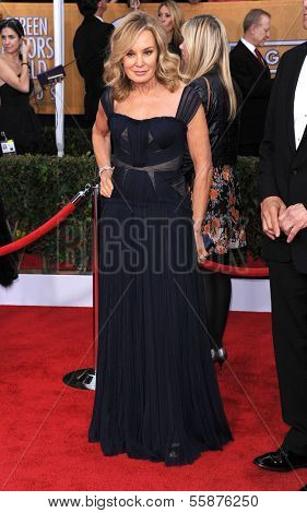 LOS ANGELES - JAN 27:  Jessica Lange arrives to the SAG Awards 2013  on January 27, 2013 in Los Angeles, CA