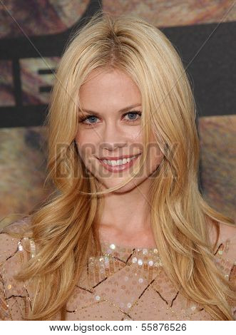 LOS ANGELES - JUL 28:  CLAIRE COFFEE arrives to the