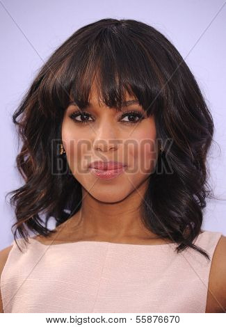 LOS ANGELES - MAY 16:  Kerry Washington arrives to the