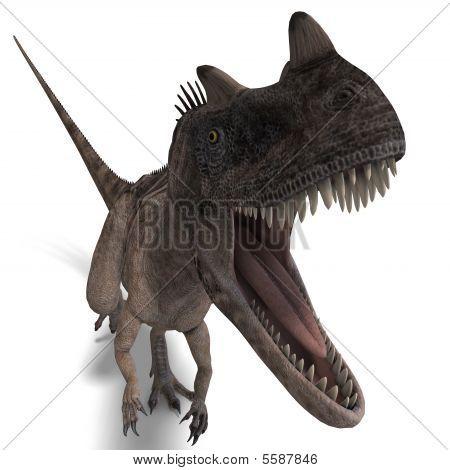 Dinosaur Ceratosaurus