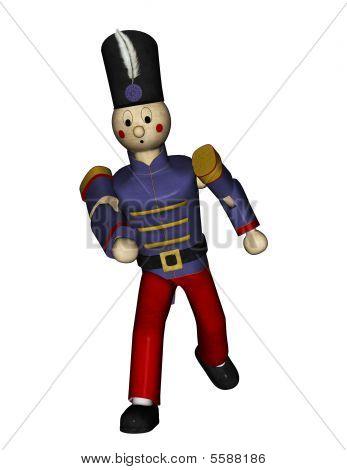Toy Soldier Running