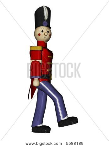 Toy Soldier Marching