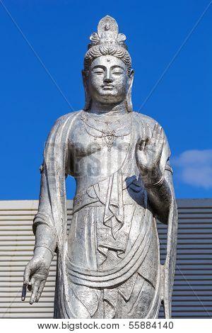 Guanyin Statue At Hiroshima Central Park (hiroshima Chuo Koen)