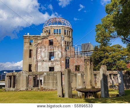 Hiroshima Peace Memorial (Genbaku Dome) in Hiroshima