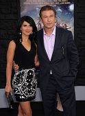 LOS ANGELES - JUN 08:  ALEC BALDWIN & HILARIA THOMAS arrives to the