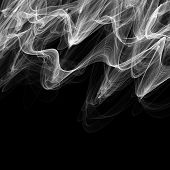 White Abstract Smoke