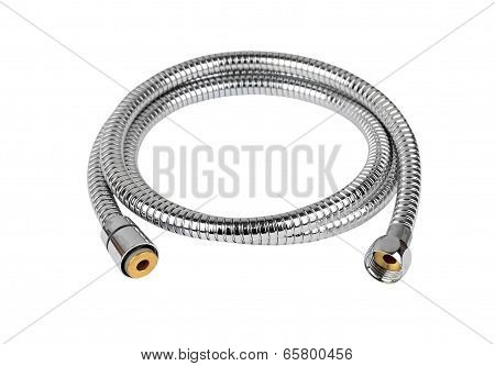 Chrome plated shower pipe