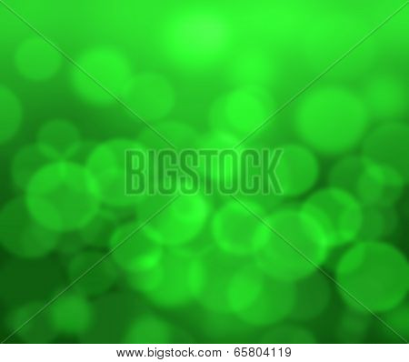 Out Of Focus Green Background
