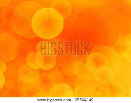 Bright Sunlight With Yelow And Orange Background