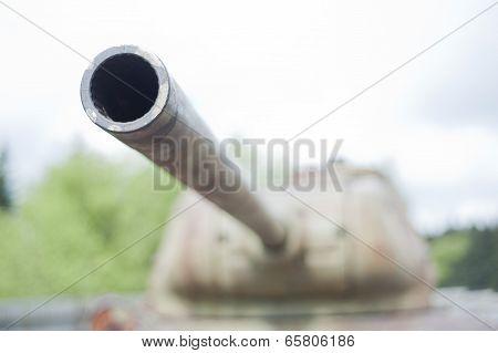 Turret of tank T34