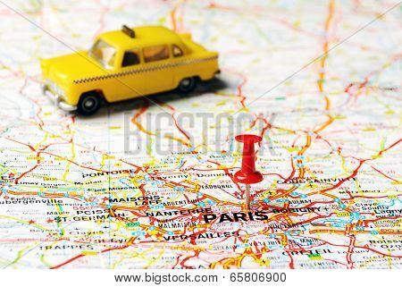 Paris France  Taxi