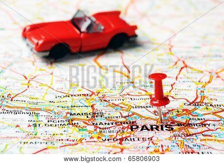 Paris ,france Cabrio