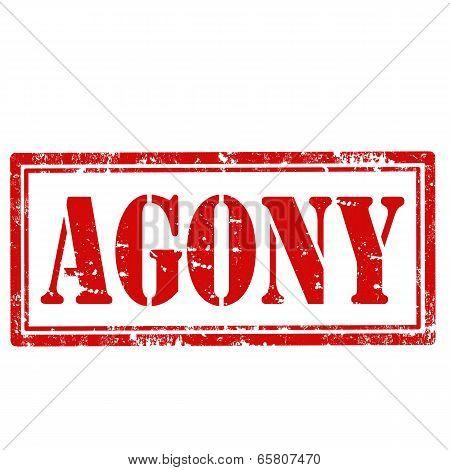 Agony-stamp