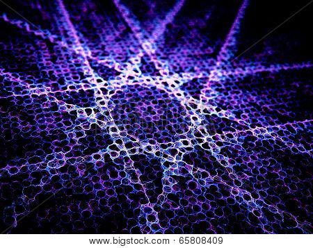 Purple Abstract Lines Abstract Background