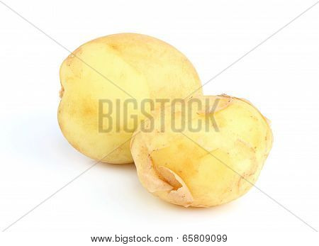 Two Young Potatoes.