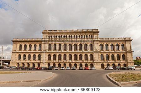 Stock Exchange (1875), Kaliningrad (former Konigsberg), Russia