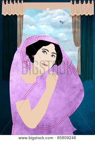 Empress In sari
