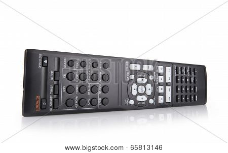Tv And Audio Remote Control Keypad Black