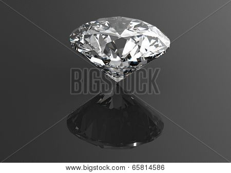 Luxury 3D diamonds render. Jewelry gemstone