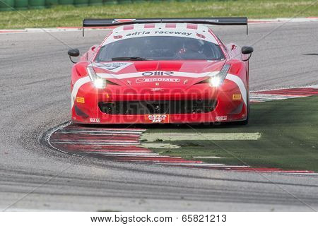 Ferrari 458 Italia Race Car