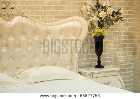 The image of a bedroom interior