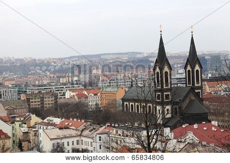 Skyline Of Church Of Saints Cyril And Methodius