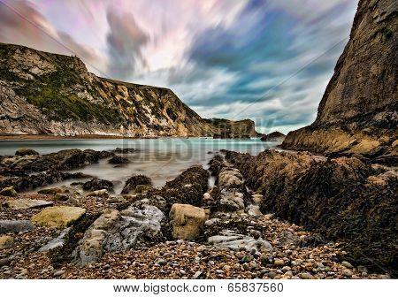 Man 'O' War Bay, Dorset