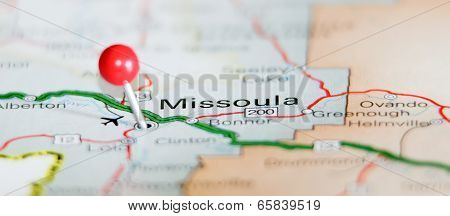 Missoula City Pin On The Map