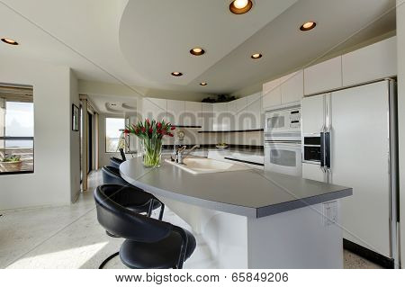 Modern Refreshing Kitchen Interior