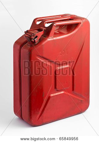 Red Fuel Tank Or Jerry Can
