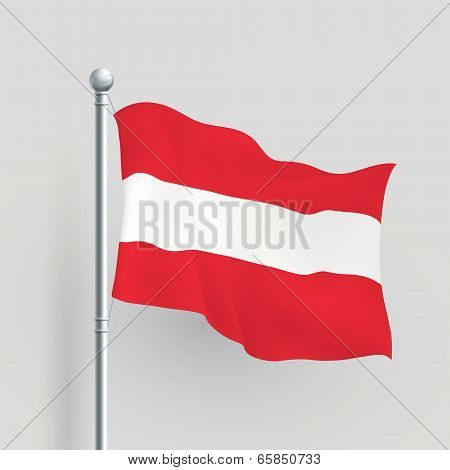 3D Vector Austria Flag