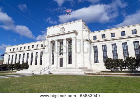 Washington, DC - United States Federal Reserve headquarters building