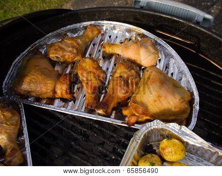 Bbq Grill Chicken Quarters