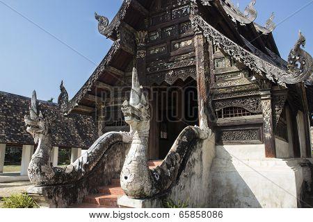 Northern Thai Art Temple Church
