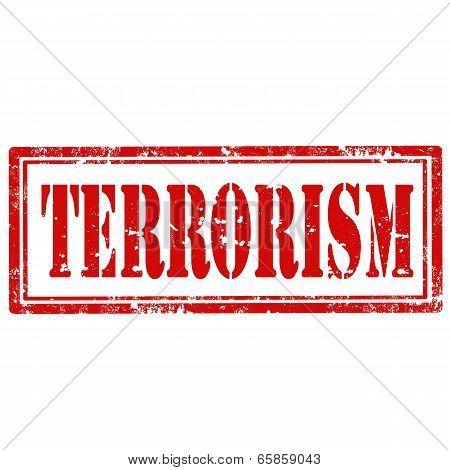 Terrorism-stamp