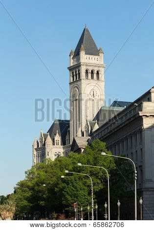 Tower Of Old Post Office Building Washington